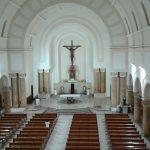 Parte superior vista para altar, percebe-se como os difusores AL 3.5 Garcia são discretos.